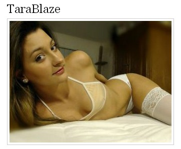 TaraBlaze Live Cam Awards Nomination