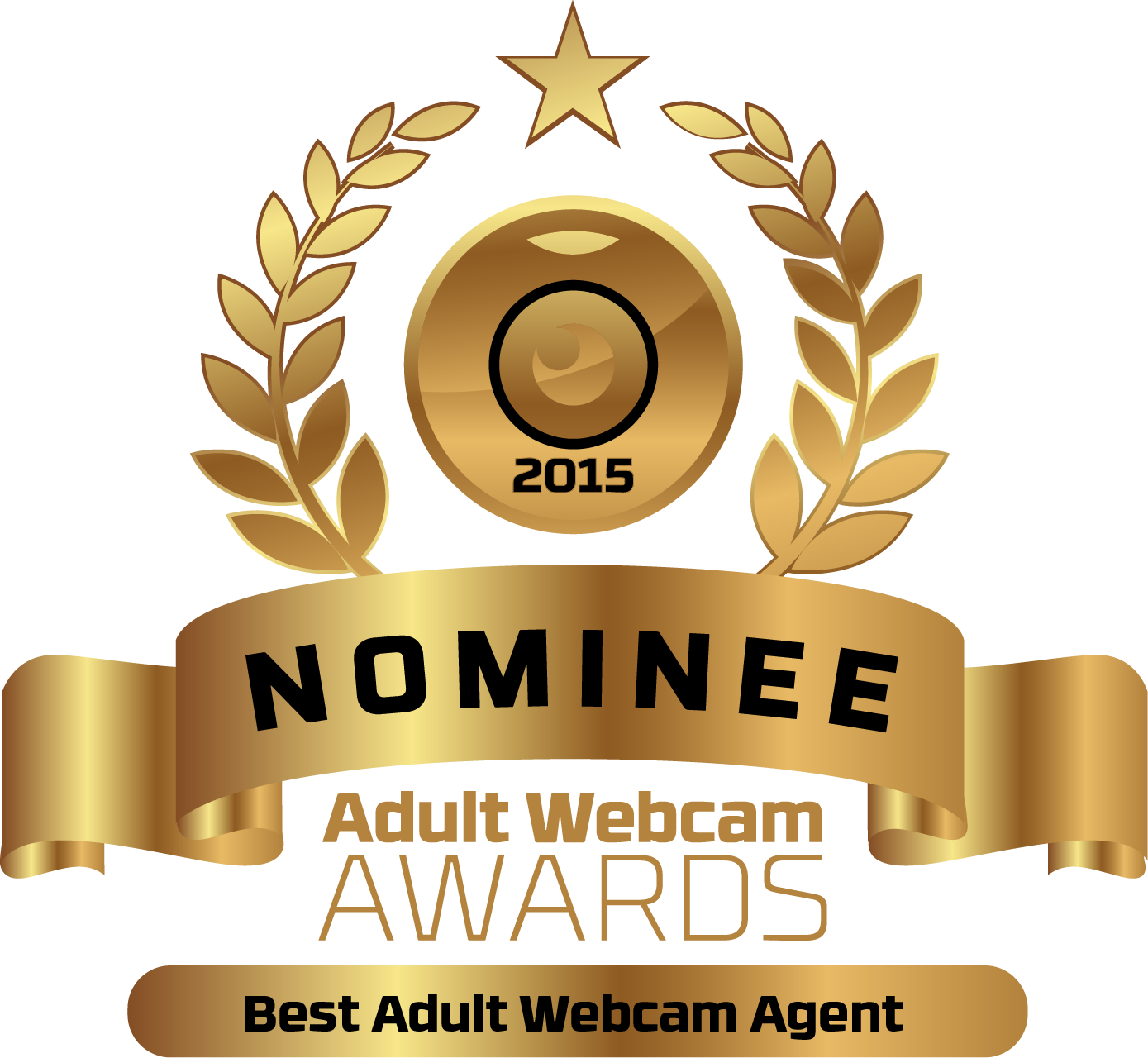 Best Adult Webcam Agent Nominee Badge