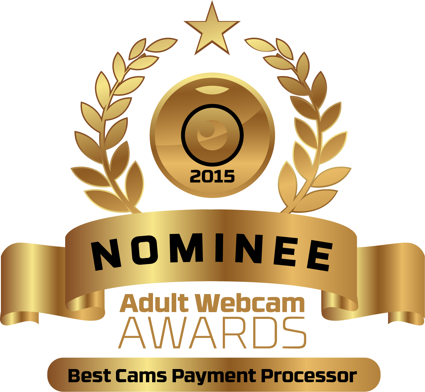 Best Cams Payment Processor Nominee Badge