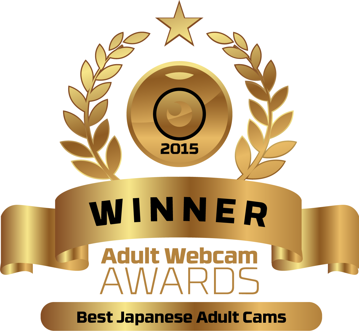 Best Japanese Adult Cams Nominee Badge