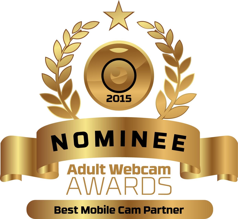 Best Mobile Cam Partner Nominee Badge