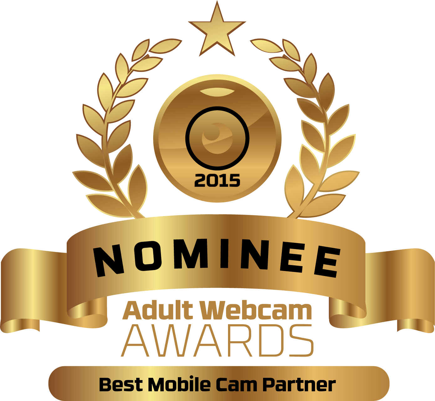 Best Mobile Cam Partner Nominee Badge
