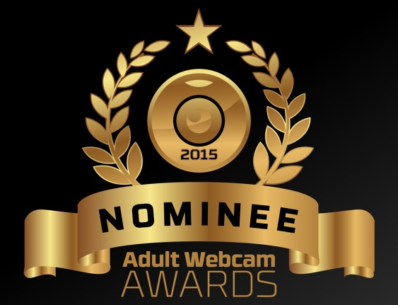 Adult Webcam Awards Badge for Nominees to use on sites and social media pages.