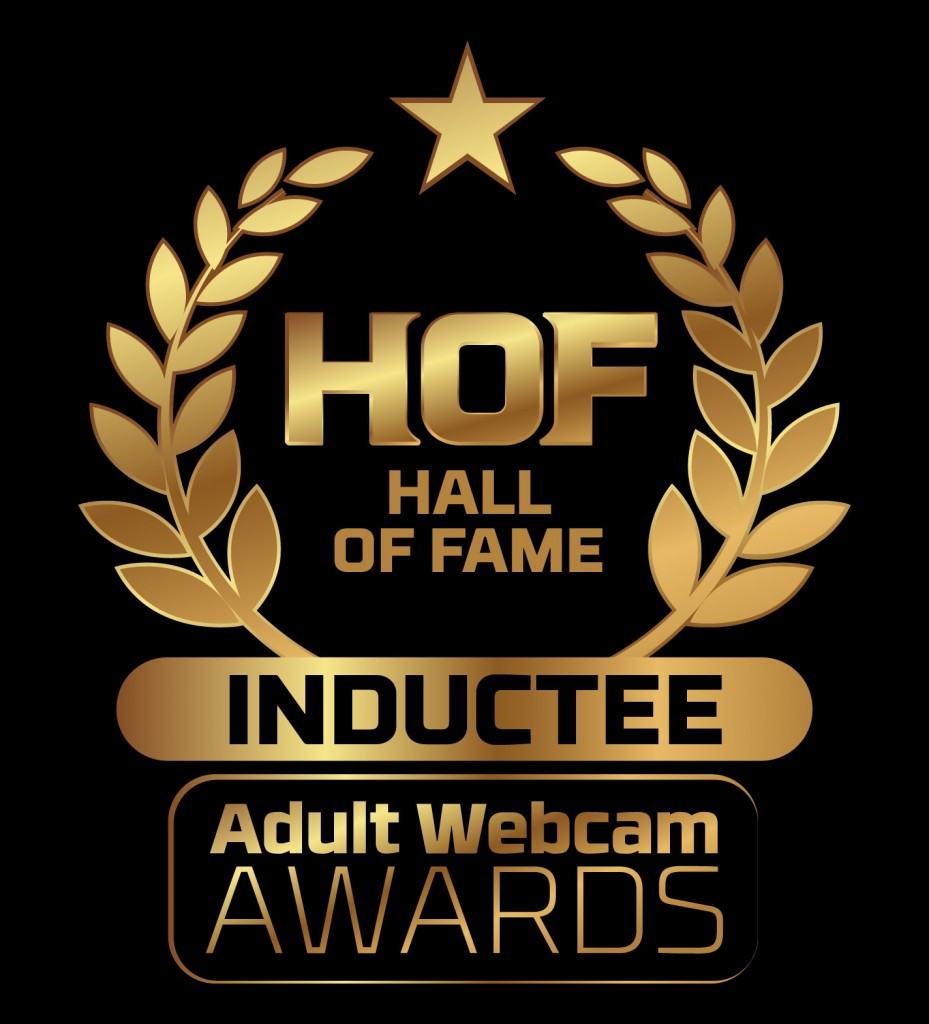 Adult Webcam Hall of Fame Inductee Badge png 2