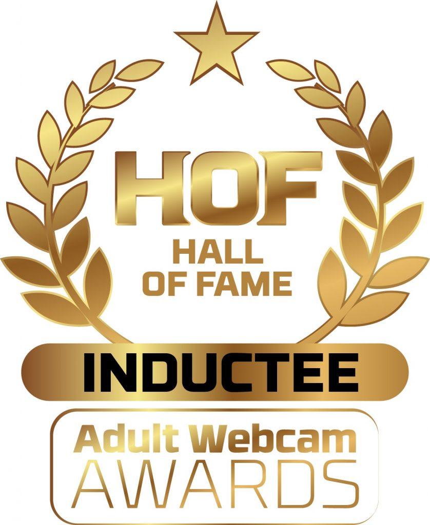 Adult Webcam Hall of Fame Inductee Badge png