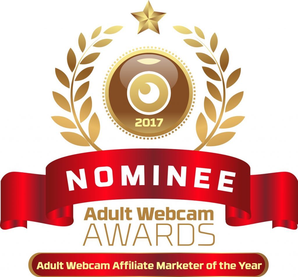 Adult Webcam Affiliate Marketer of the Year 2016 - 2017 Nominee