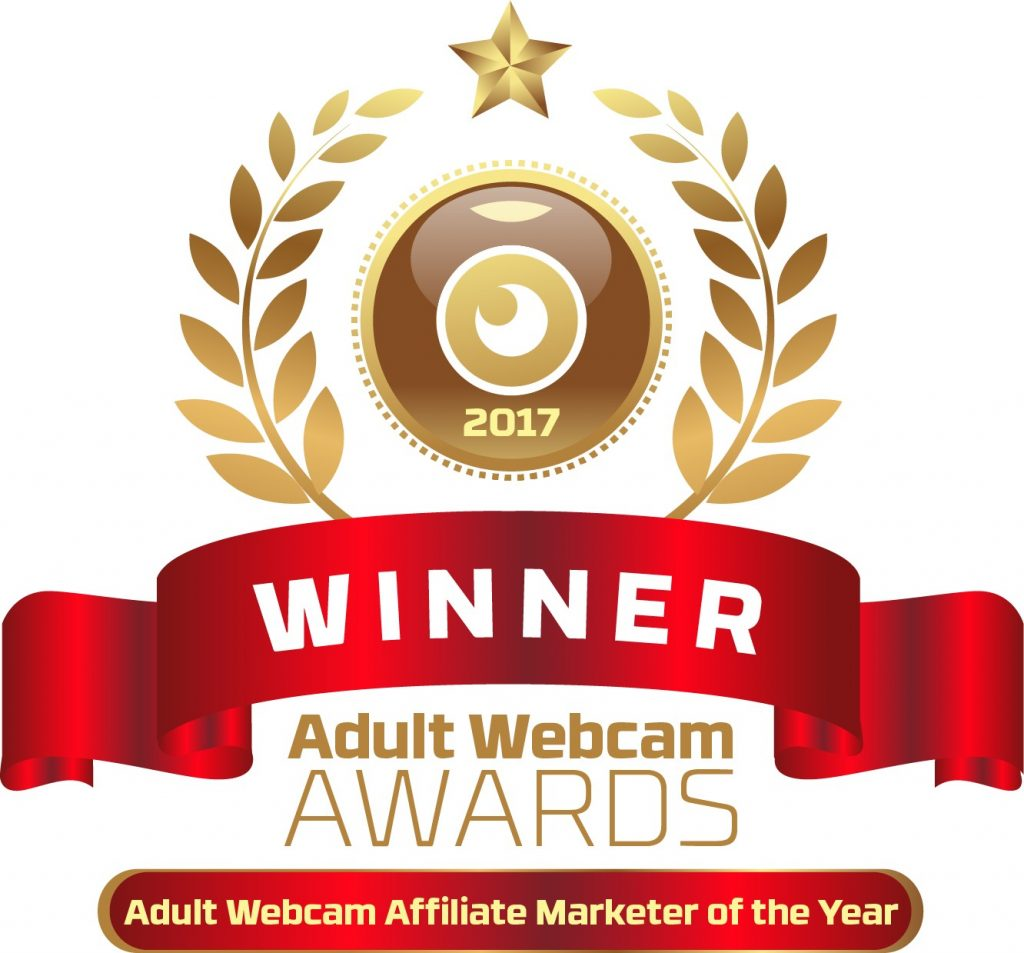 Adult Webcam Affiliate Marketer of the Year 2016 - 2017 Winner