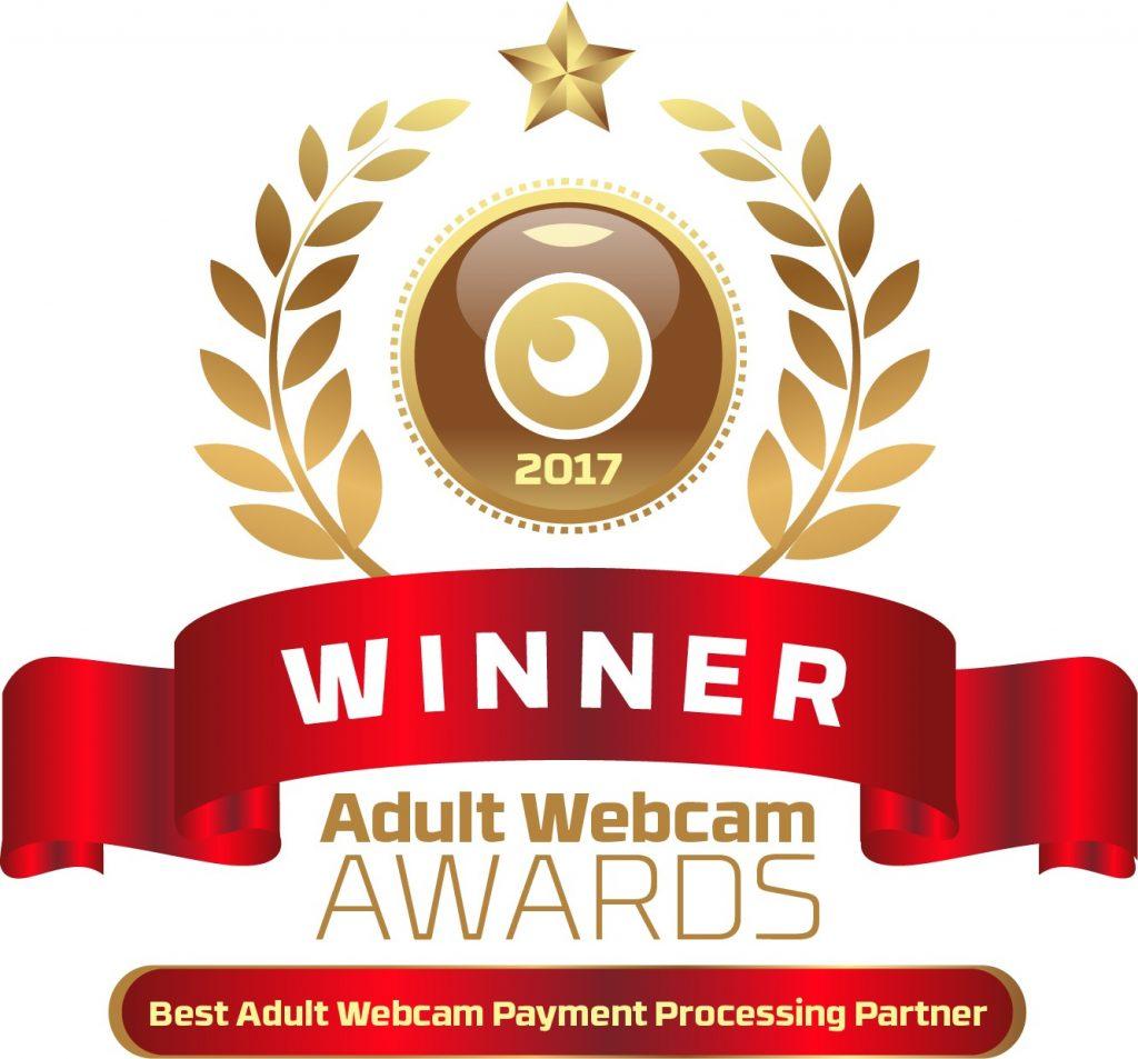 Best Adult Webcam Payment Processing Partner 2016 - 2017 Winner