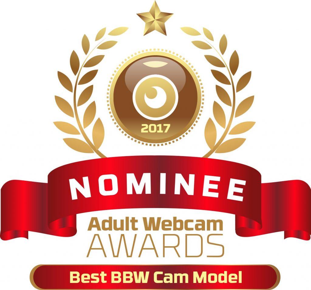 Best BBW Cam Model 2016 - 2017 Nominee