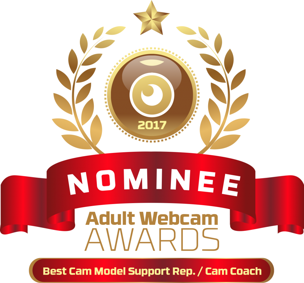 Best Cam Model Support Rep or Cam Coach 2016 - 2017 Nominee