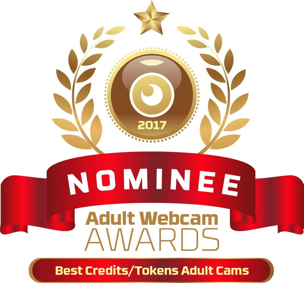 Best Credits Tokens Adult Cam Site 2016 - 2017 Nominee