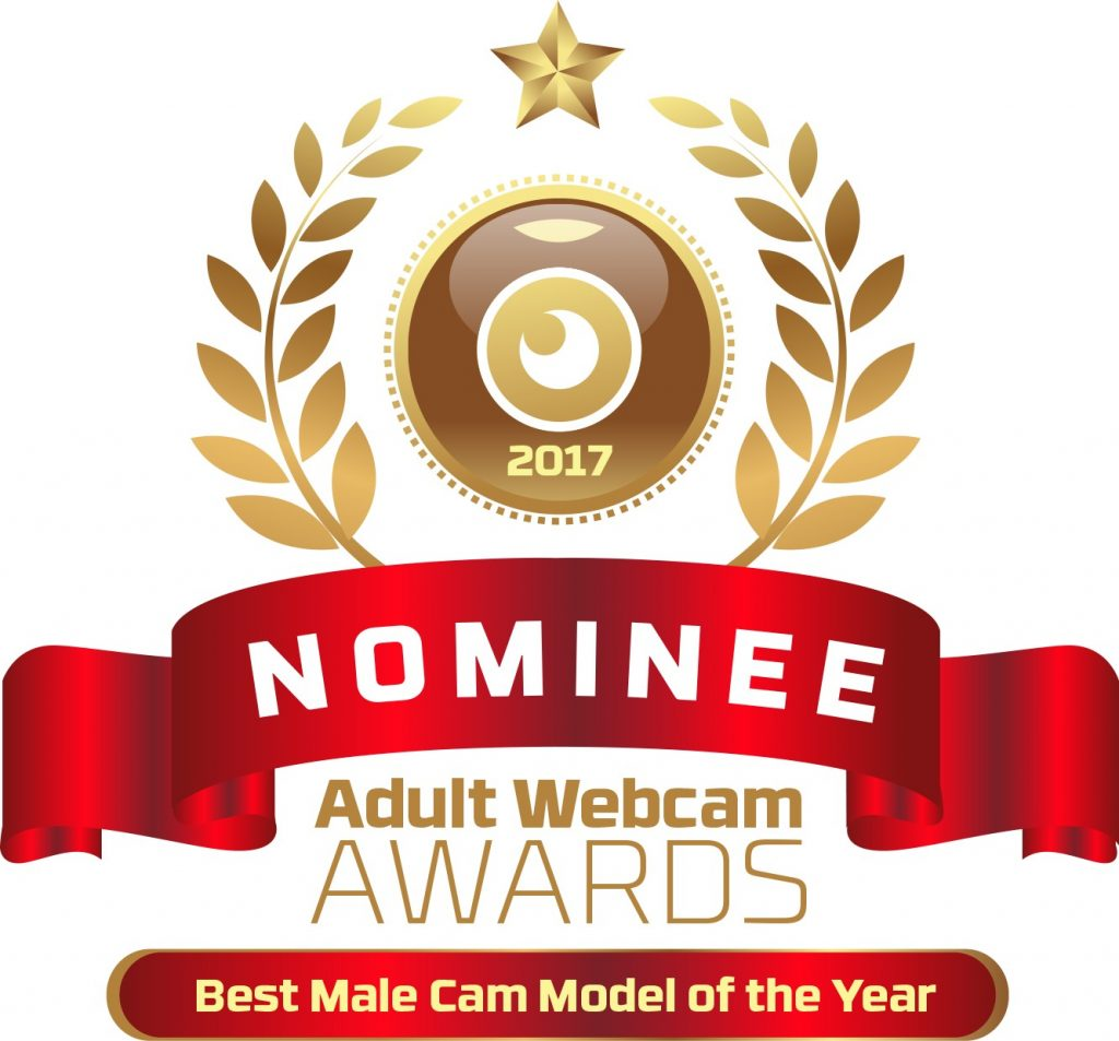 Best Male Cam Model of the Year 2016 - 2017 Nominee