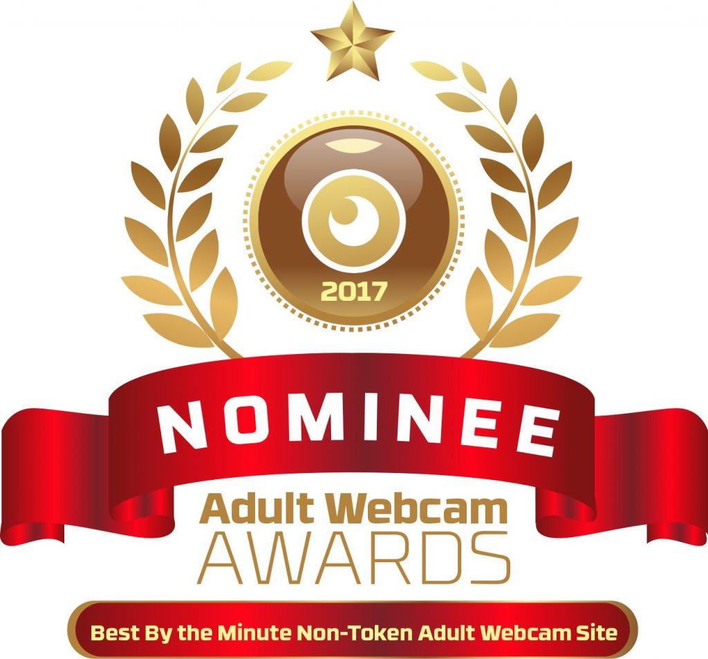 Best Non Token by the Minute Adult Webcam Site 2016 - 2017 Nominee