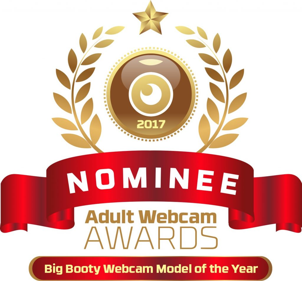 Big Booty Webcam Model of the year 2016 - 2017 Nominee