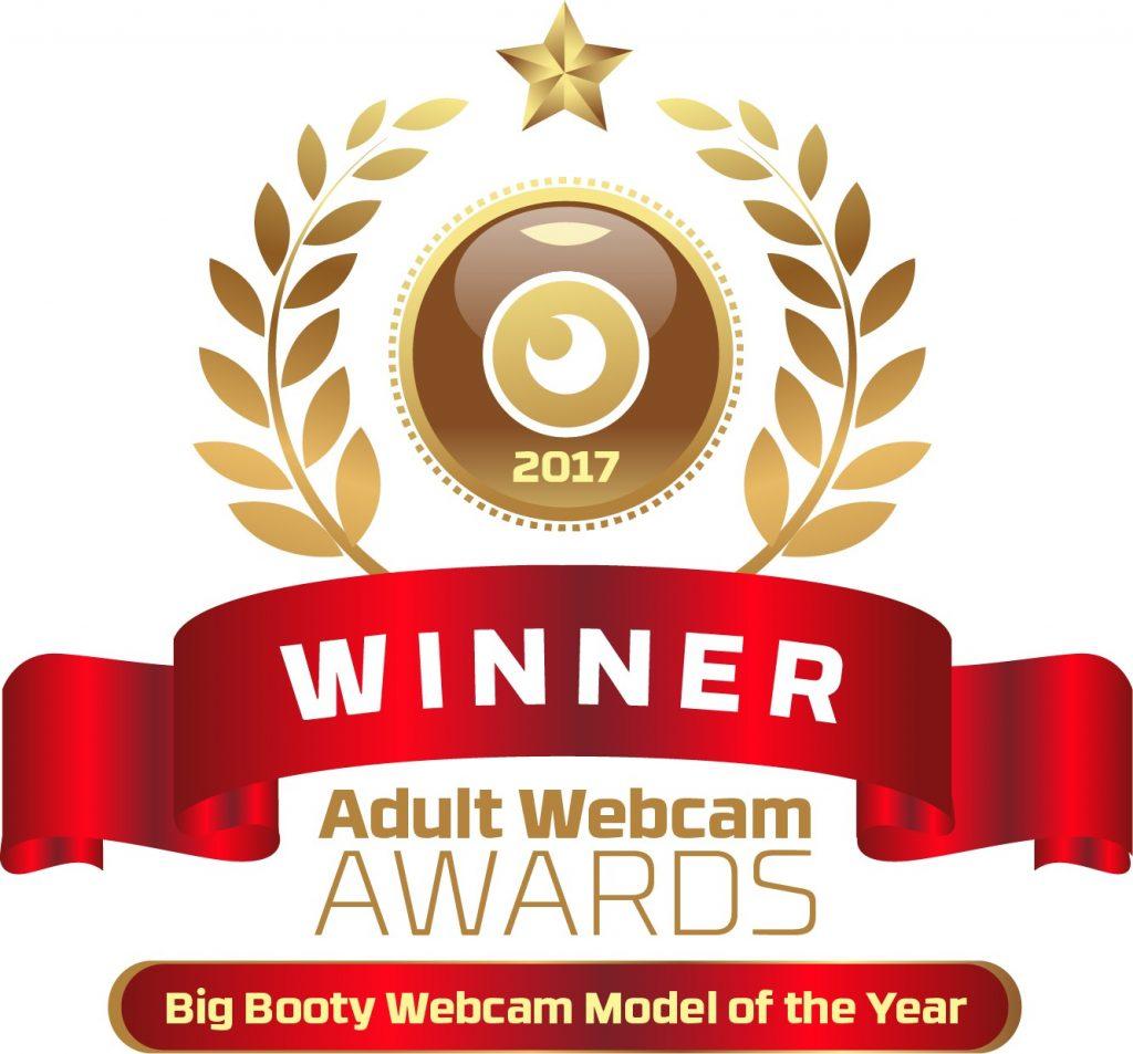 Big Booty Webcam Model of the year 2016 - 2017 Winner