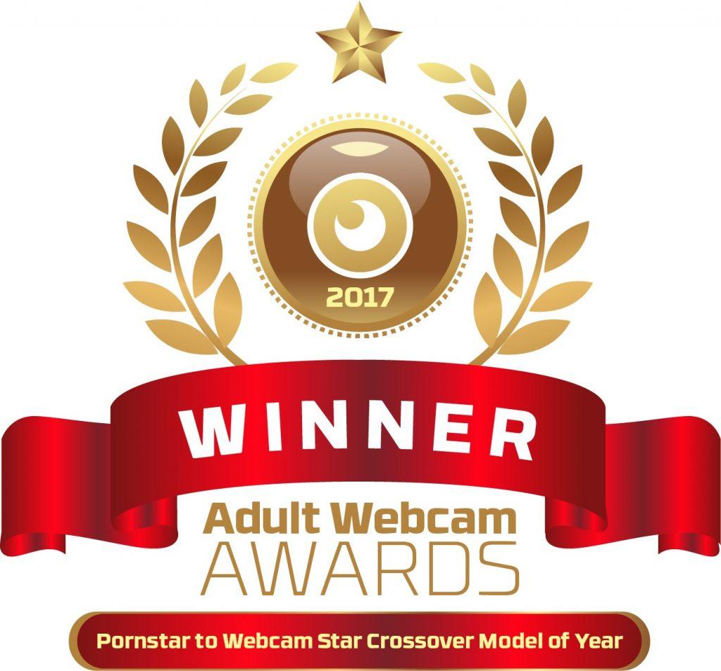 Pornstar to Webcam Star Crossover Model of the year Winner 2016 - 2017 Winner